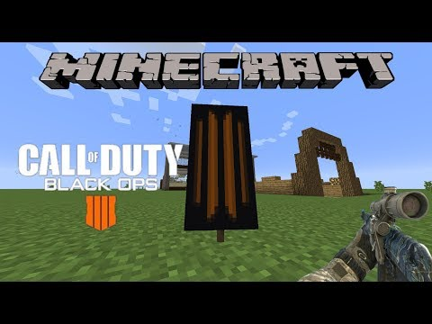 How to make the Black Ops 4 Symbol in Minecraft! (Call of Duty Black Ops 4 Banner)