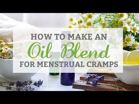 How to Make an Oil Blend for Menstrual Cramps