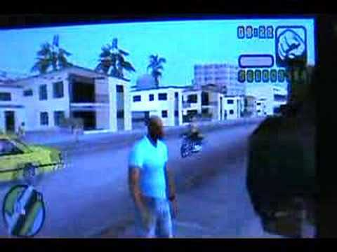 Get a tank On gta vcs for PSP