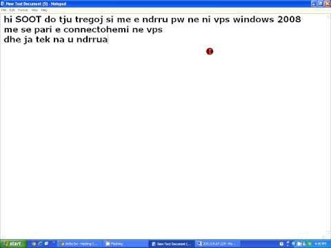 How to change password in vps windows 2008