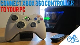 Connect Xbox 360 Controller To Pc 2016 Wirelesswired Windows 1087vist