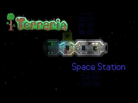 Terraria: Space station