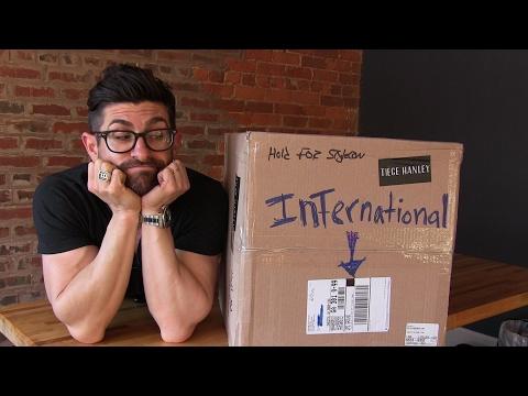 International Shipping | Tiege Hanley Vlog 64