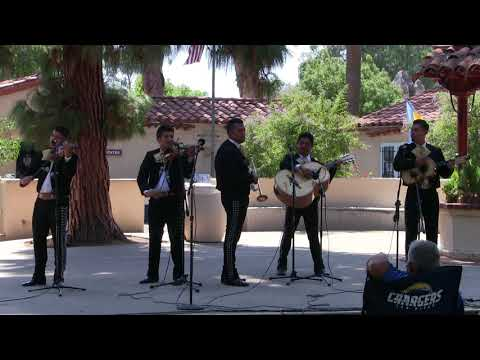 House of Mexico, August 26, 2017, with Mariachi Los Toritos and Bertha Hernández