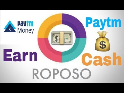 Earn Unlimited Paytm Cash || Roposo public TV