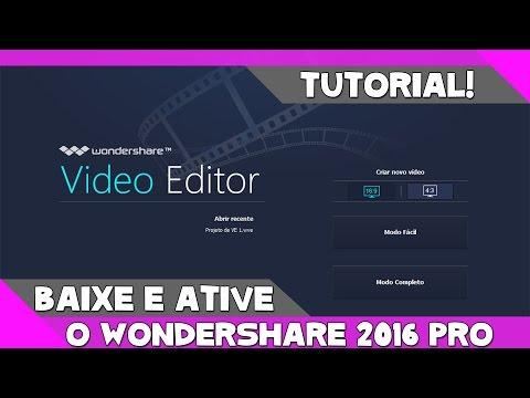 Baixar o melhor editor de vídeo para youtubers iniciantes (Wondeshare)