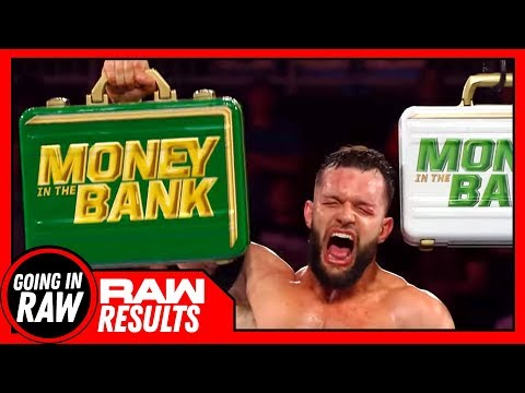 Did Balor Just GUARANTEE He WON'T WIN MITB? WWE Raw 6/4/18 Review & Results (Going In Raw Podcast)