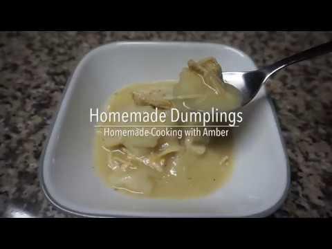 Homemade Dumplings for Chicken and Dumplings