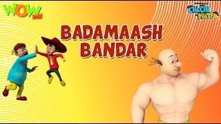 Badmaash Bandar - Chacha Bhatija - 3D Animation Cartoon for Kids| As on Hungama TV