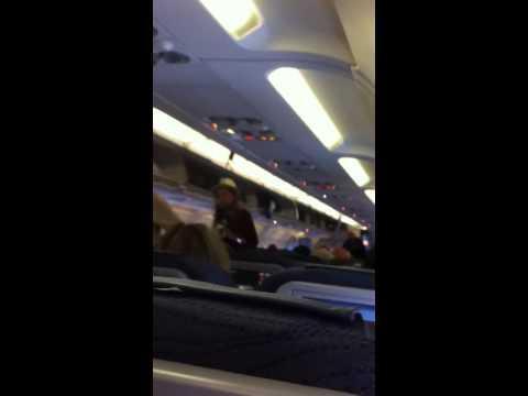 Boarding CRJ 750