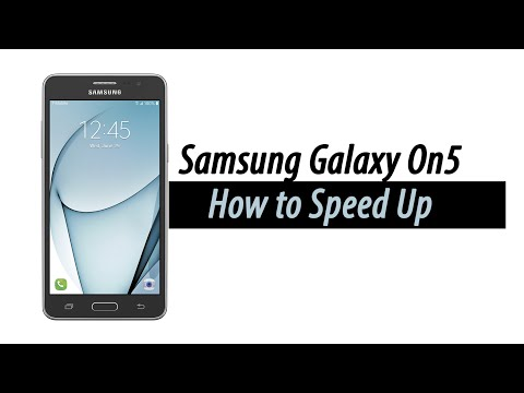 How to Speed Up the Samsung Galaxy On5