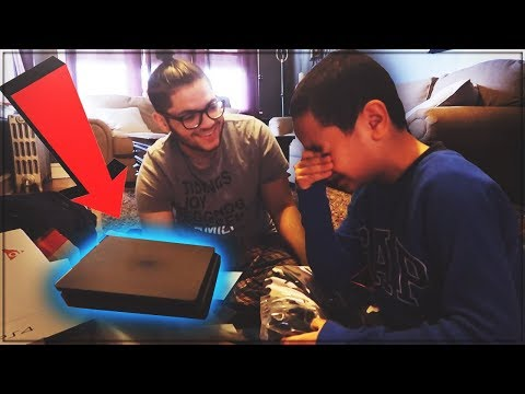 9 YEAR OLD BROTHER GETS SURPRISED WITH A PS4 FOR CHRISTMAS! HIS REACTION WAS PRICELESS! *EMOTIONAL*