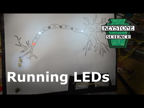 How to make Running LEDs