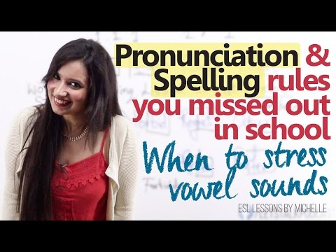 Spelling & Pronunciation Rules you missed out in school - English pronunciation lesson for beginners