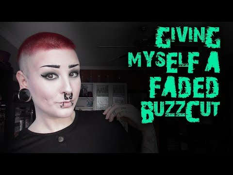 Giving myself a faded buzzcut