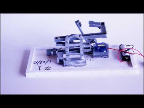 3D Printed Marble Machine