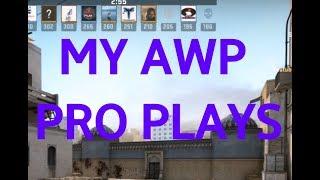 TOP 5 my csgo pro plays with awp + BONUS