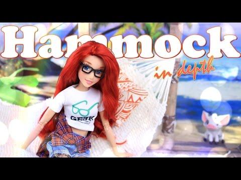 DIY - How to Make: Doll Hammock - In Depth - No Sew - Handmade Doll Craft - 4K