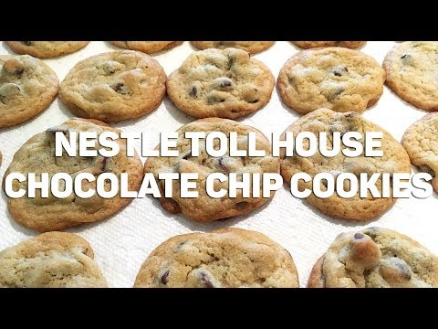 How to Make NESTLE TOLL HOUSE COOKIES   Brownie Bakes