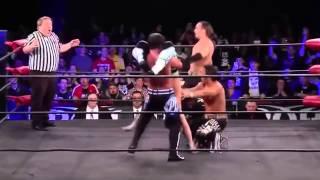 AJ Styles & Young Bucks KILLS Evan Bourne ( ROH 2015 )