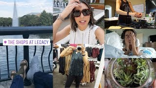 VLOG | Mommy Parole - Gym, a second date, more gym, and more gym. Oh and a haul!
