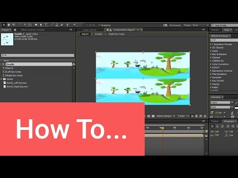 How to Create a 3D 360 Video