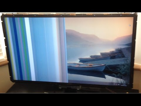 Lcd Tv Half Black Screen Diagnosis and Quick Easy Fix Tip