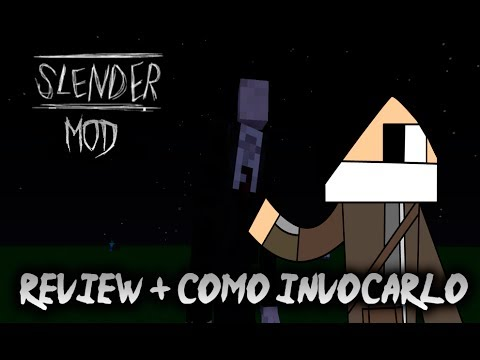 MINECRAFT: REVIEW SLENDERMAN MOD + TUTORIAL COMO INVOCARLO | HOW TO SUMMON SLENDERMAN [ 1.6.2 1.6.4]