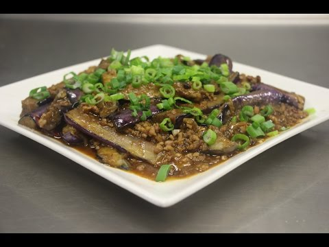 How to Make Eggplants with Garlic Sauce (鱼香茄子) Semi-Authentic