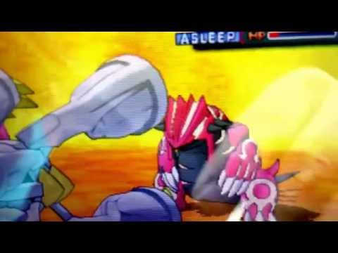 Pokemon Omega Ruby very easy way to catch Groudon with ultraball