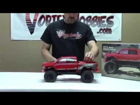 Axial SCX10 Ram Power Wagon - Closer Look & Running - Vortex Hobbies