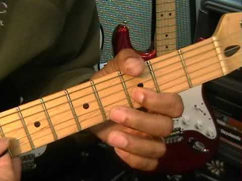 How To Play Brad Paisley TIME WARP Main Riff  On Electric Guitar EricBlackmonGuitar Country