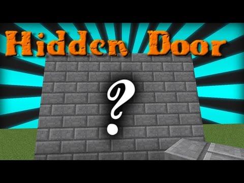 MINECRAFT | HOW TO MAKE A HIDDEN PISTON DOOR | HOW TO MAKE A JEB DOOR | REDSTONE TUTORIAL