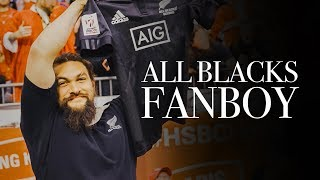 Geekout, All Blacks Fanboy