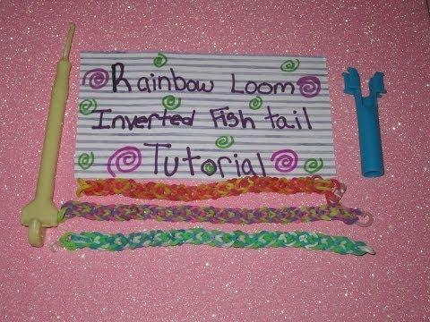 Luv2Loom Inverted Fishtail Tutorial (Using Mini Loom)