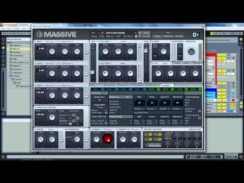 NI Massive Tutorial: Crizzly Style Synth