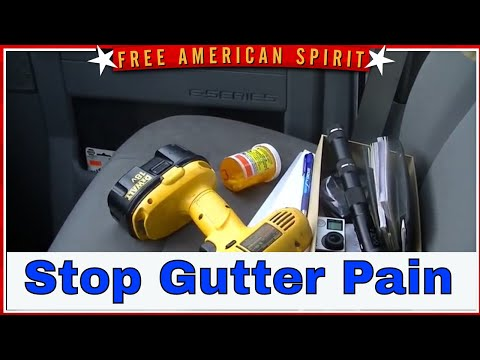 The Gutter Tool Review cleaning 2 story gutters LeGrand and Company Gutter Cleaning near Phelps NY