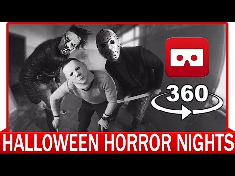 Xxx Mp4 360° VR VIDEO Halloween Horror Nights Fright Nights Jason Leatherface Michael Myers 3gp Sex