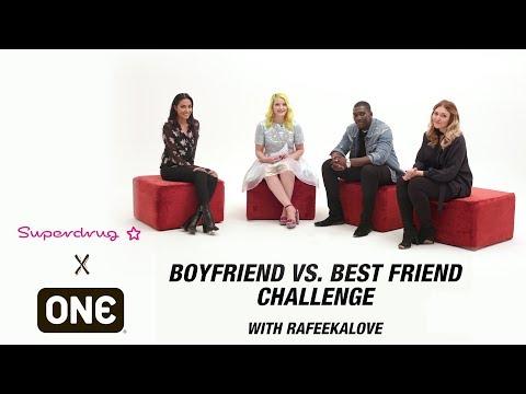 Boyfriend Vs. Best Friend Challenge with Rafeekalove | Superdrug x ONE