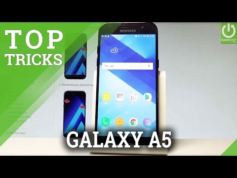 TOP TRICKS SAMSUNG Galaxy A5 (2017) - Cool Features & Tips