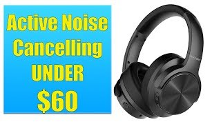 MIXCDER E9 REVIEW: Active Noise Cancelling Headphones for UNDER $60!