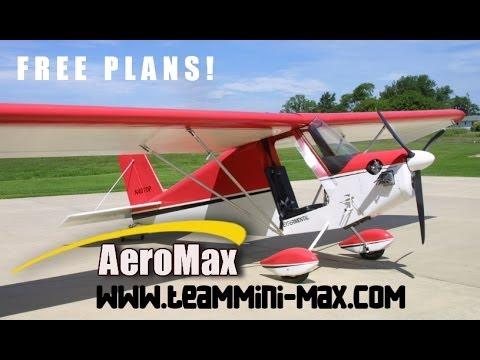 FREE TEAM Mini-Max ultralight aircraft and experimental amateurbuilt aircraft plans.