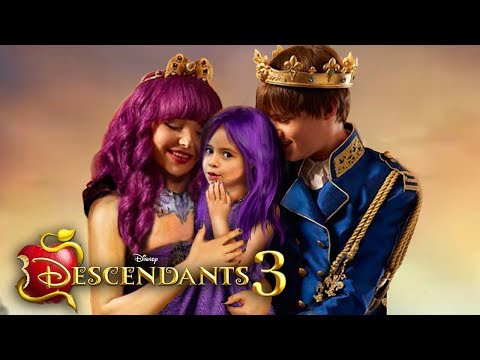 Descendants 3 Mal And Ben Have A Daughter And She Has