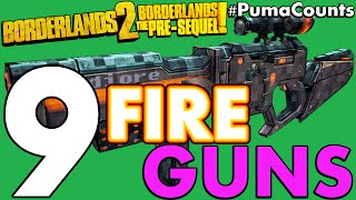 Top 5 Favorite Guns and Weapons in Borderlands 2 #PumaCounts