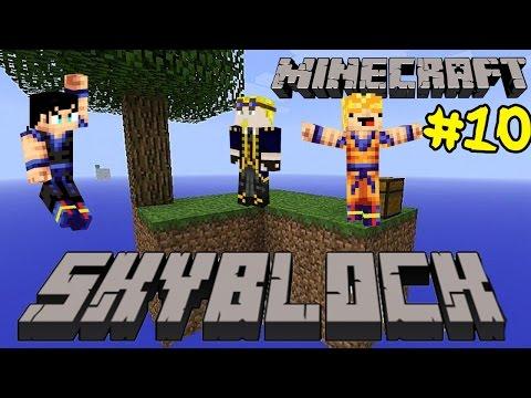 Minecraft Skyblock Survival 1.8 w/ Thundershot & Zeshin: Enter The Nether Portal!