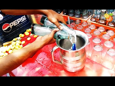 Lemon Soda ( नींबू सोडा ) | Popular Indian Street Foods & Drinks