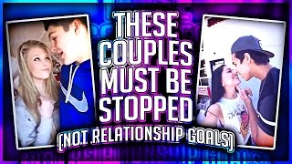THESE CRINGEY COUPLES MUST BE STOPPED!!! (NOT RELATIONSHIPS GOALS)