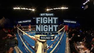 Frampton victorious on ring return   Watch in 360 VR