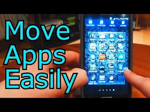 Moving Applications Between Pages Samsung Galaxy S4