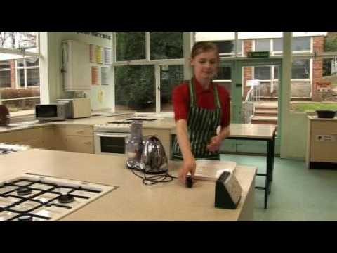 Using a food processor